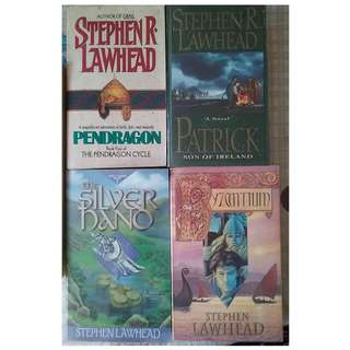 Stephen Lawhead books