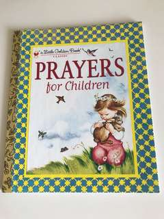 Prayers For Children - Little Golden Book