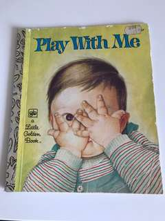 Play With Me - Little Golden Book