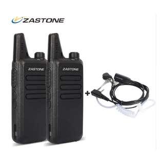 Zastone premium compact Walkie Talkie (One Pair, 2 pieces)