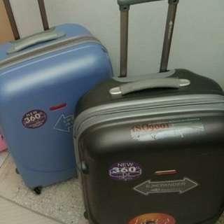 "Handcarry luggage 22"" x 14"""
