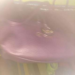 Purple tote/purse BCBG Paris