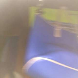 Blue purse