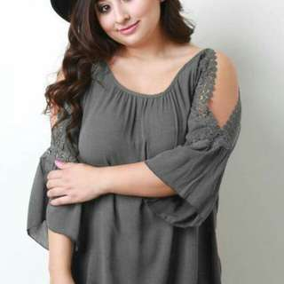 Plus size blouse