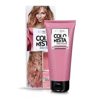🆕 L'oreal Colorista Washout Dirty Pink Semi-permanent Hair Dye