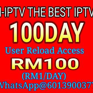 100DAY M-IPTV/HOAHD USER RELOAD ACCESS