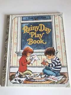 Rainy Day Play Book - Little Golden Book
