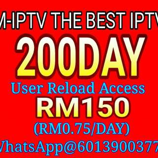 200DAY M-IPTV/HOAHD USER RELOAD ACCESS