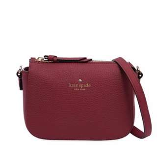全新KATE SPADE NEW YORK WENDI GRAINED LEATHER小牛皮手袋