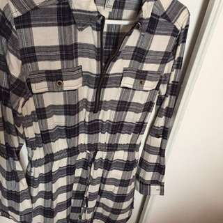 F21 Long Sleeve Dress
