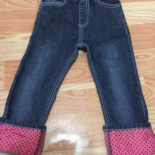 Pre loved jeans from japan for 2-3 years old