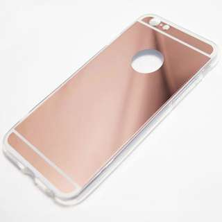 Mirror Jelly Case (Rosegold)