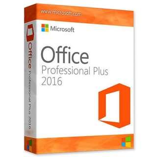正版Office 2016 Pro (for 5 users on Mac, Windows & Mobile)