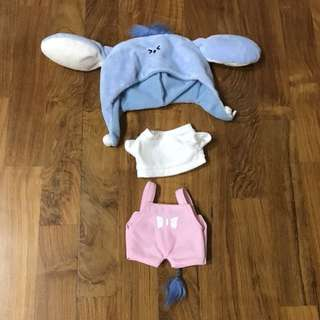 EXO & BTS 20cm Eeyore Kookieclothing Doll Clothes