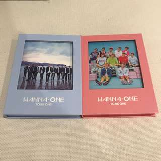 Wanna one to be one Album Pink / Sky