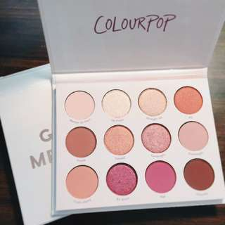 🚚 Colourpop Give it to me straight 16色眼影盤