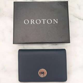 Oroton Navy wallet