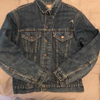Vintage Levi's Big e 60s trucker denim jacket size 40 M