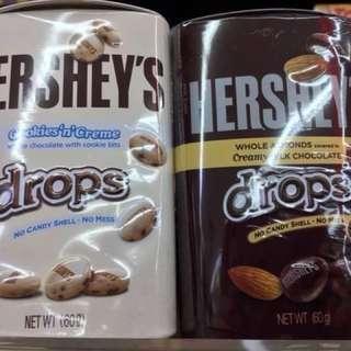香港限定Hershey's鐵罐