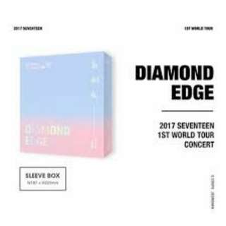 [NON-PROFIT] Seventeen Diamond Edge 2017 World Tour DVD