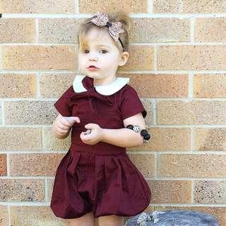 Babybitbit | 100% Cotton Baby Girl Jumpsuit | G5DRF8