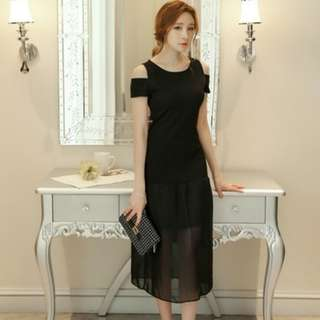 Classy long dress
