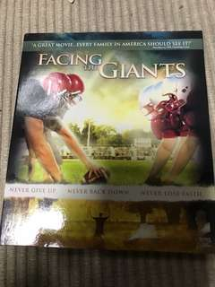 VCD Facing the Giants