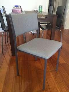 Grey Study Chair