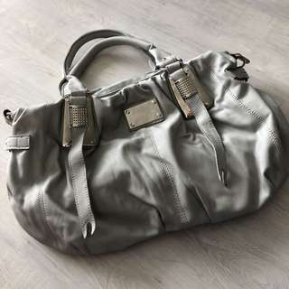 Bluegrey handbag