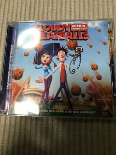 VCD Cloudy with a chance of meatballs