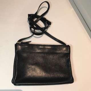 Céline Trio Leather Crossbody Bag