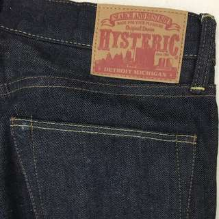 Hysteric Glamour unwashed jeans blue 牛仔褲 levis