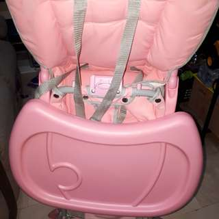 Baby co high chair stable legs