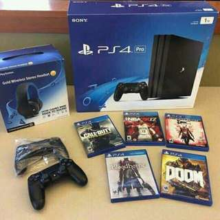 Brand New Original Sony PlayStation 4pro 1TB.