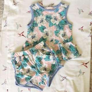 Gingersnaps shorts set tiny24