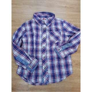 Cotton On Checkered Polo Shirt