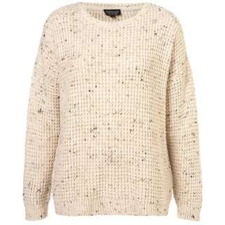 Topshop Knitted Speckle Slouch Jumper