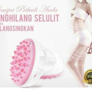 Pelangsing & Penghilang Selulit (Anti Cellulit Massage Slimming Brush)