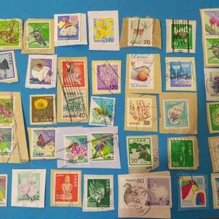 日本通用郵票,包郵,42個
