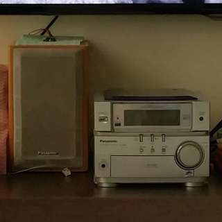 Panasonic CD Stereo System SA-PM06 music