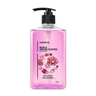 🆕 Watson Rose & Orchid Hand Soap