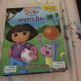 Almost New dora busy book