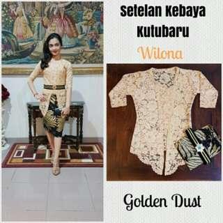 Kebaya Bali Kitu Baru Golden Dust