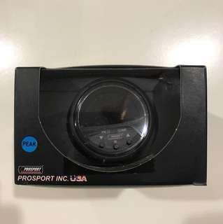 Prosport boost gauge