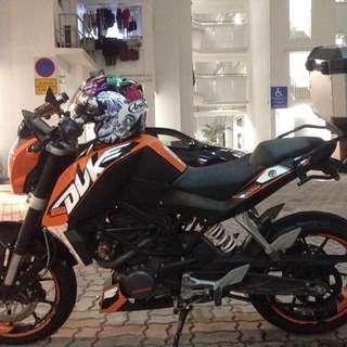 2015 KTM DUKE 200