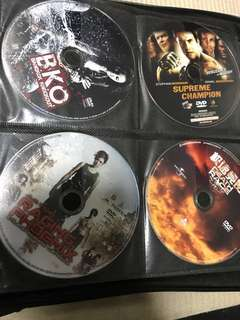 DVD Fighting, Wrestling, Supreme Champion, Losers, Raging Phoenix, Death Race, Bangkok Knockout etc.
