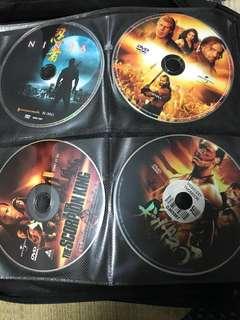 DVD Movies: Mortal Combat, Dragon, Samurai & other fighting DVD