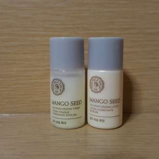 The Face Shop Mango Seed Sample Set