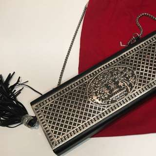 Lancel Paris Crossbody Clutch on Chain