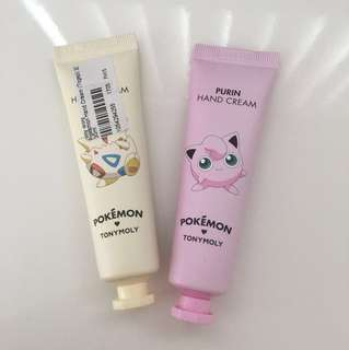 Pokémon handcream